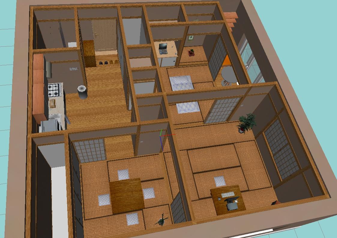 Jak bydl linux k robotics sweet home 3d diskuse for Sweet home 3d chip