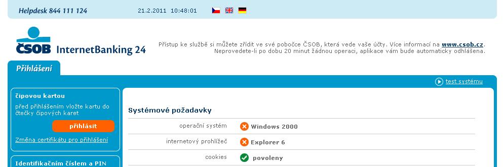 8f8ddab9d InternetBanking ČSOB přestal oficiálně podporovat Linux