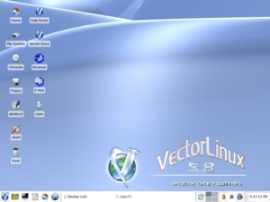 distribuce 6 vectorlinux