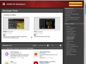 adobe air market