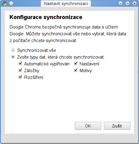 google chrome 6 sync