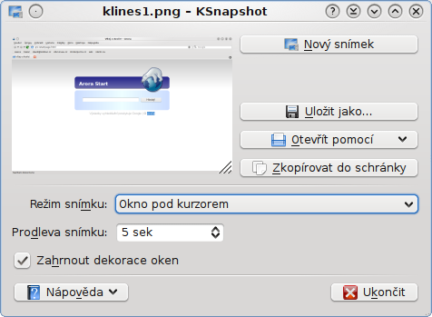 screenshot ksnapshot