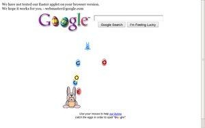easter egg google easter eggs bunny