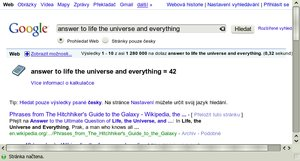 easter egg google life 42