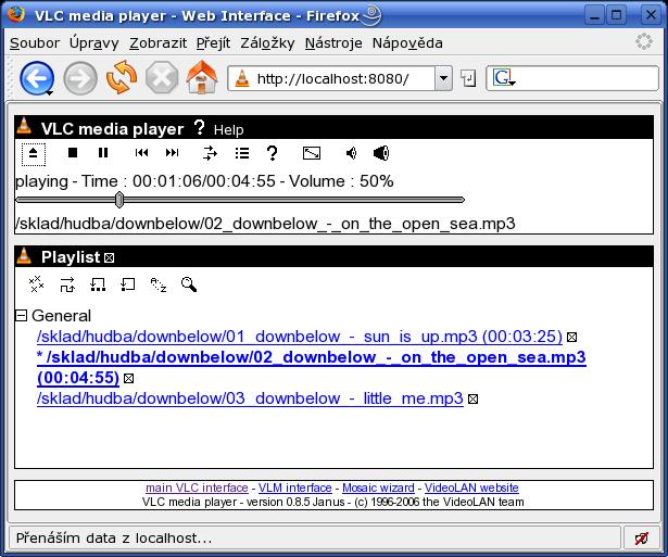 VideoLAN Client - 1 (instalace a ovládání)