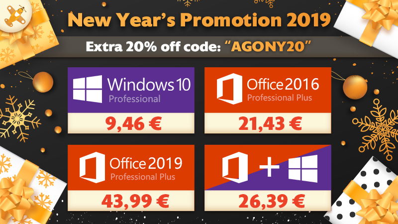 New Year`s Promotion 2019