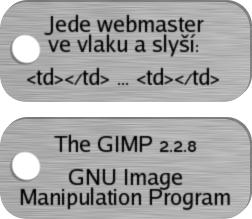 GIMP 15 Rozmazaný text připravený k použití jako elevační mapa