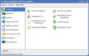 opensuse 11 yast new