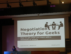 Lydia Pintscher: Negotiation Theory for Geeks