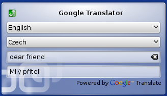 plasmoid googletranslator 1