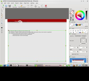 kde4.1 koffice2 kpresenter