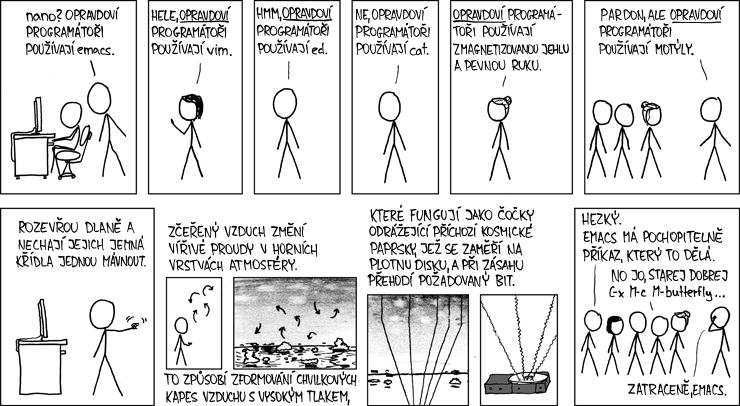 opravdoví programátoři používají ...