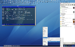 Arch - openbox, conky, tint2, xcompmgr