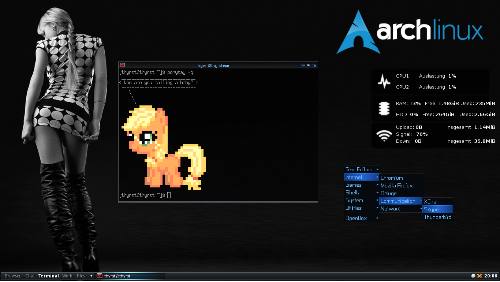 Arch Linux - Openbox