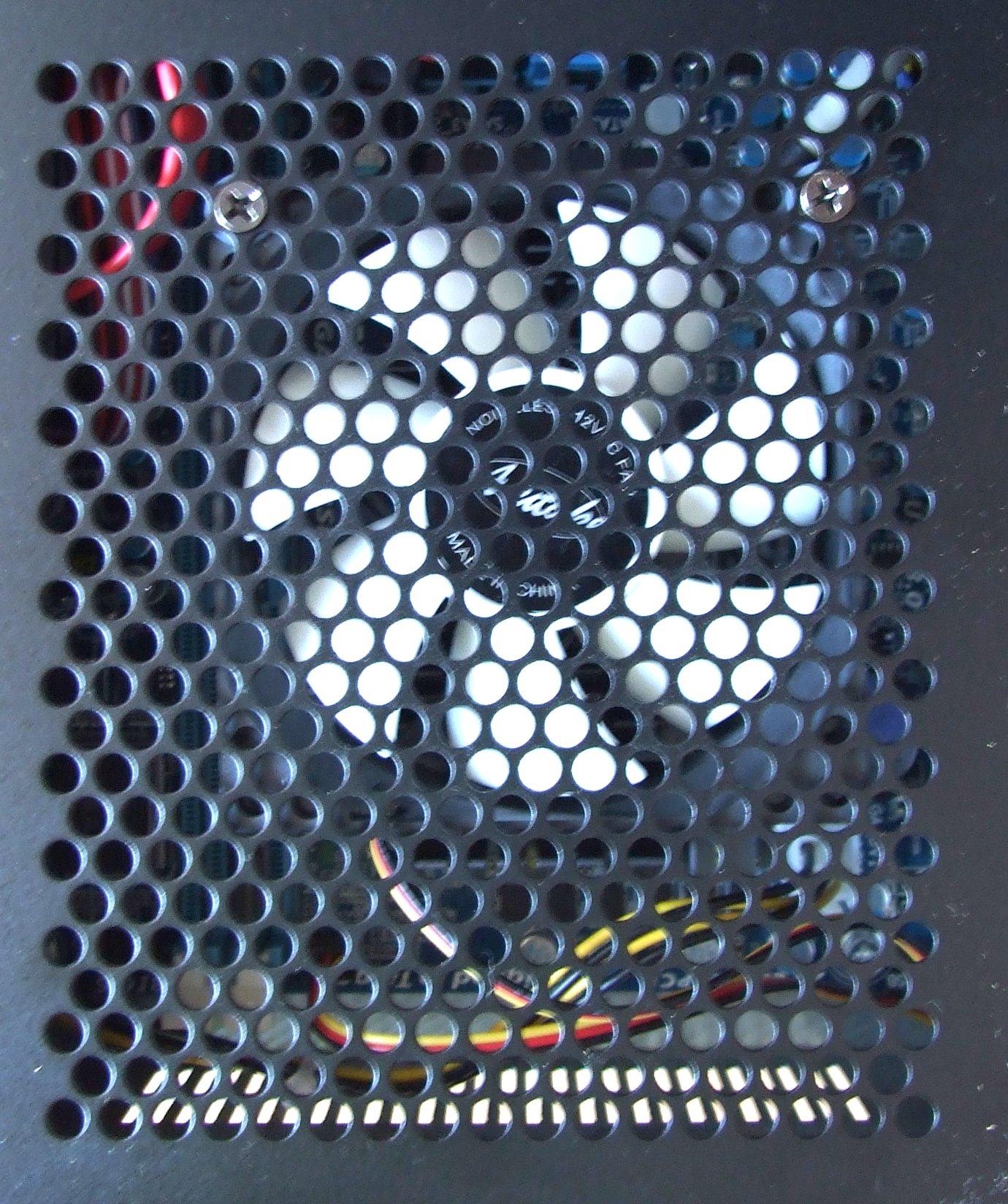 Světlík s ventilátorem