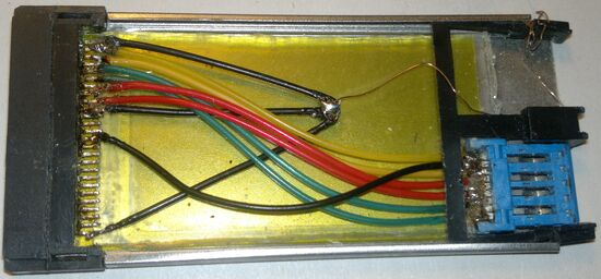 expresscard, telephone cable