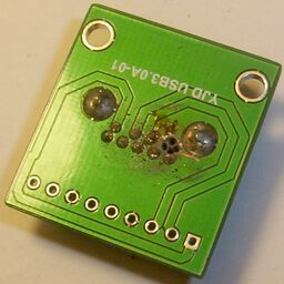 botched drilled USB