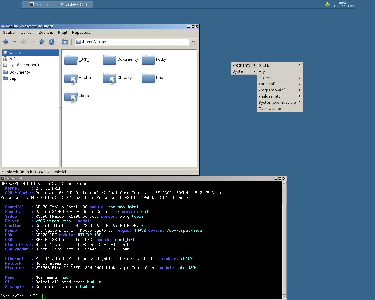 Openbox & Tint2 @ Arch - desktop
