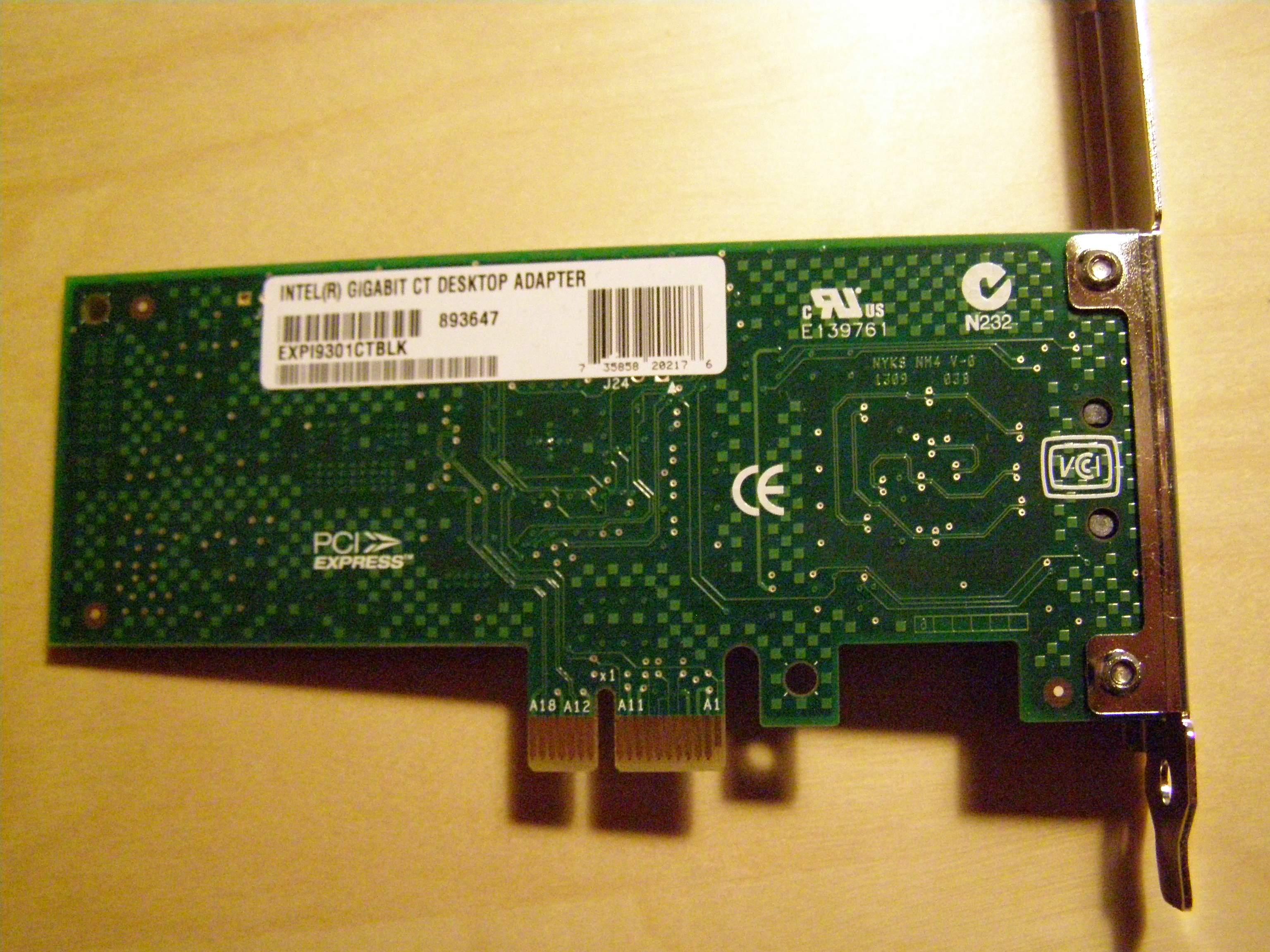 Intel 82579LM Gigabit Ethernet PHY