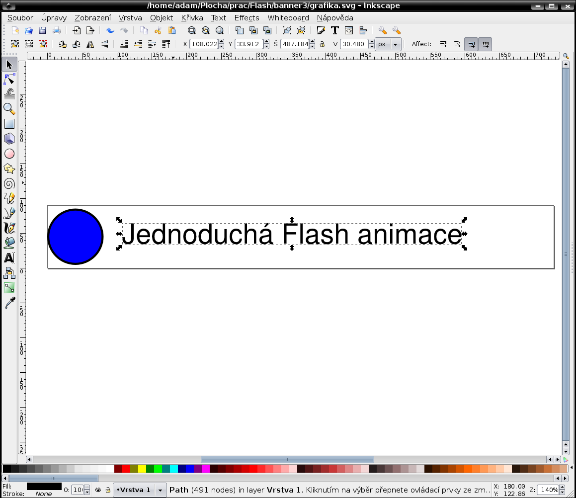 inkscape - výsledek