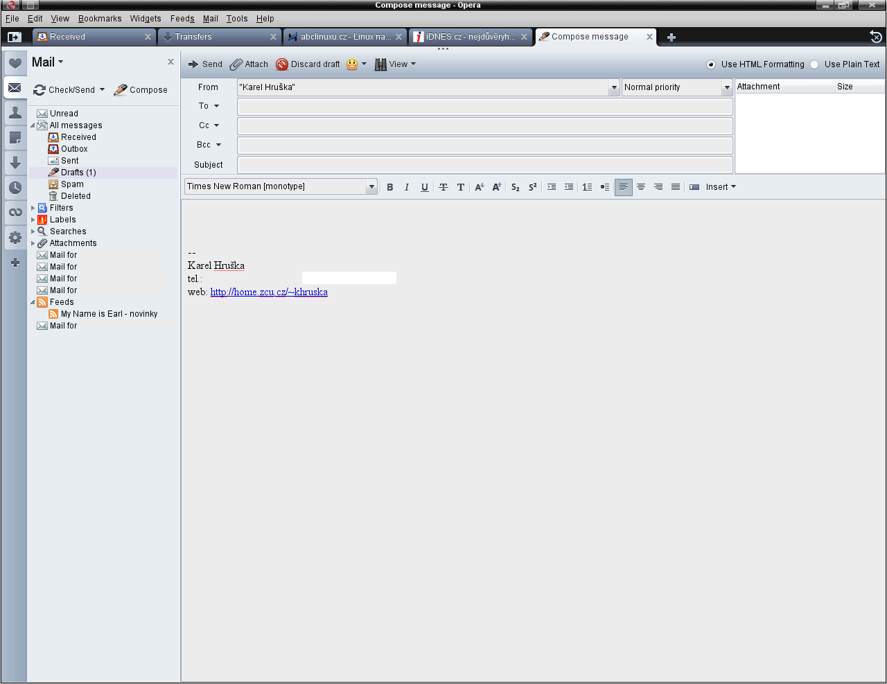 E-mailový klient