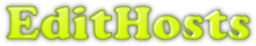 EditHosts banner