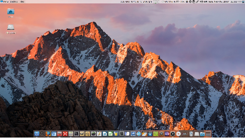 Linux Mint 18.2 Xfce Mac Like