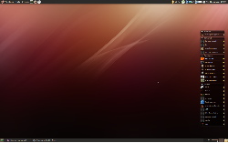 Ubuntu - Dust theme