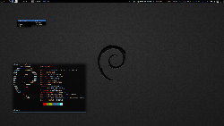 Debian + awesome wm