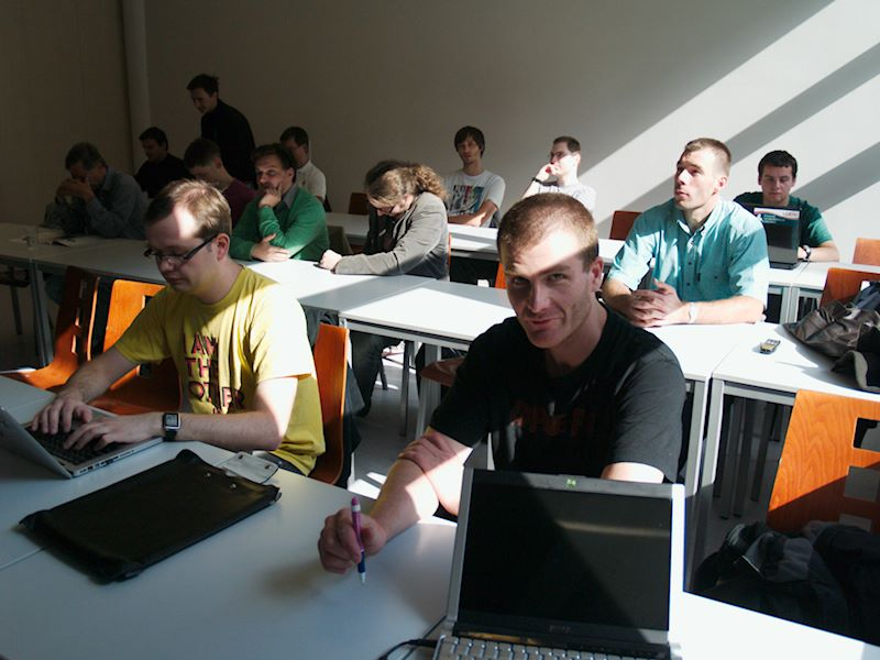 Účastníci minikonference