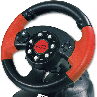 SPEEDLINK Red Lightning Racing Wheel, obrázek 1