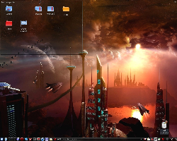 Science Fiction Fan Rama Desktop