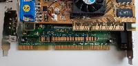AGP, PCI a ISA konektory