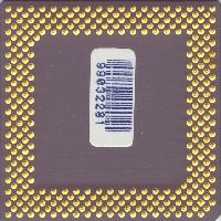 AMD K6-2 400 MHz zdola