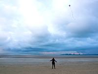 pláž na North Bull Island